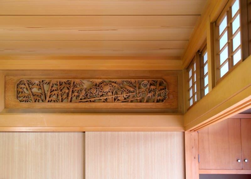 pièce japonaise traditionnelle photographie stock libre de droits