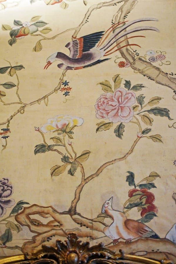 Pièce orientale de Madama de palazzo de palais royal de l'Italie Turin en appartements de la reine photographie stock