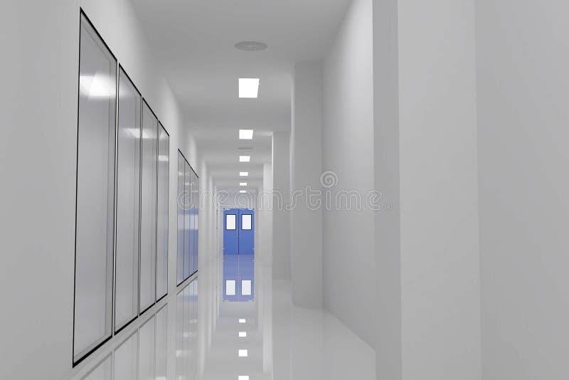 Pièce propre de couloirs images stock