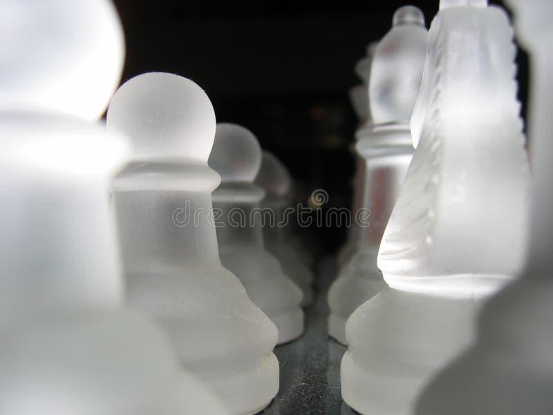 Pièces d'échecs photos libres de droits
