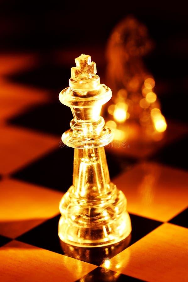 Pièces d'échecs photographie stock