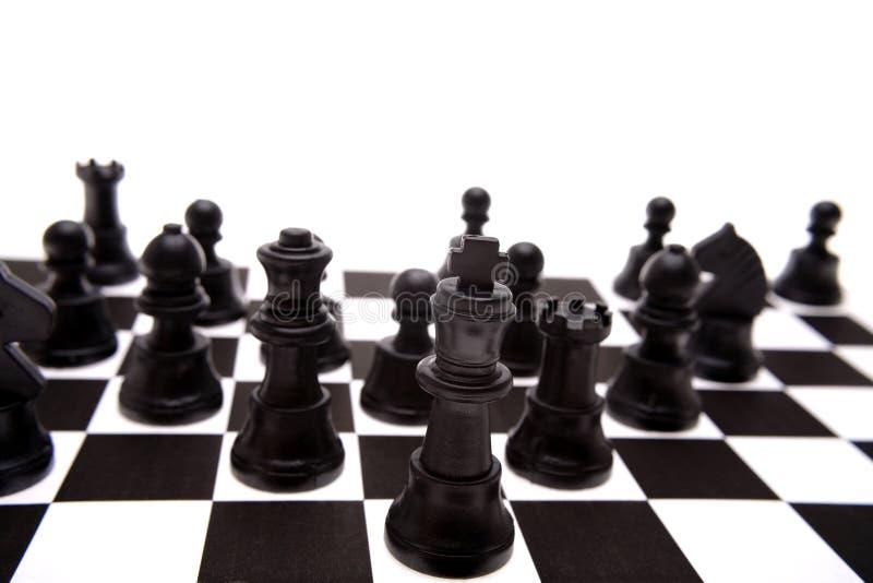 Pièces d'échecs photos stock