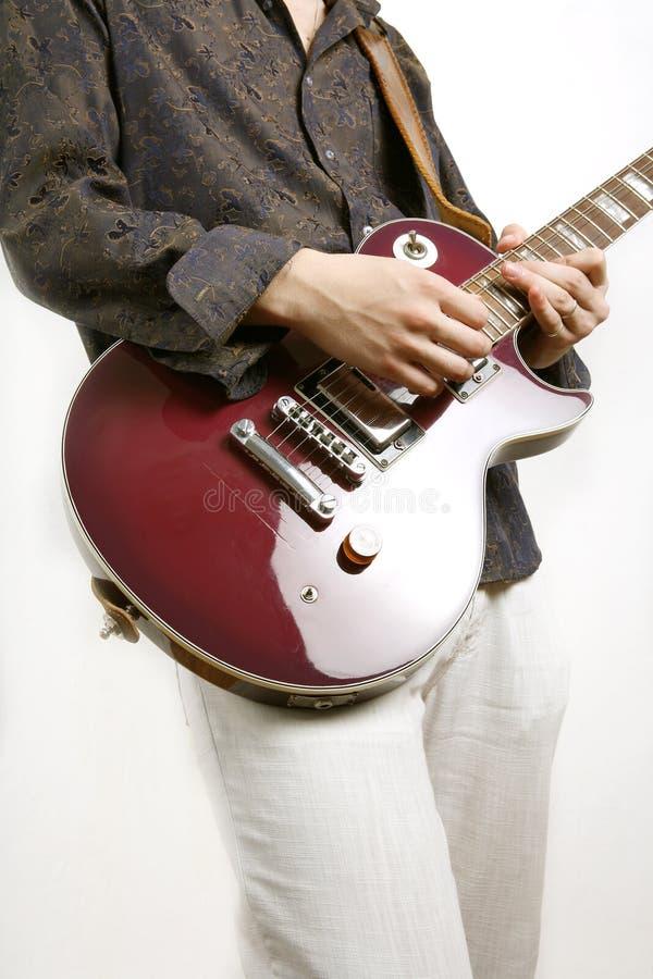 Pièces de guitariste photo libre de droits