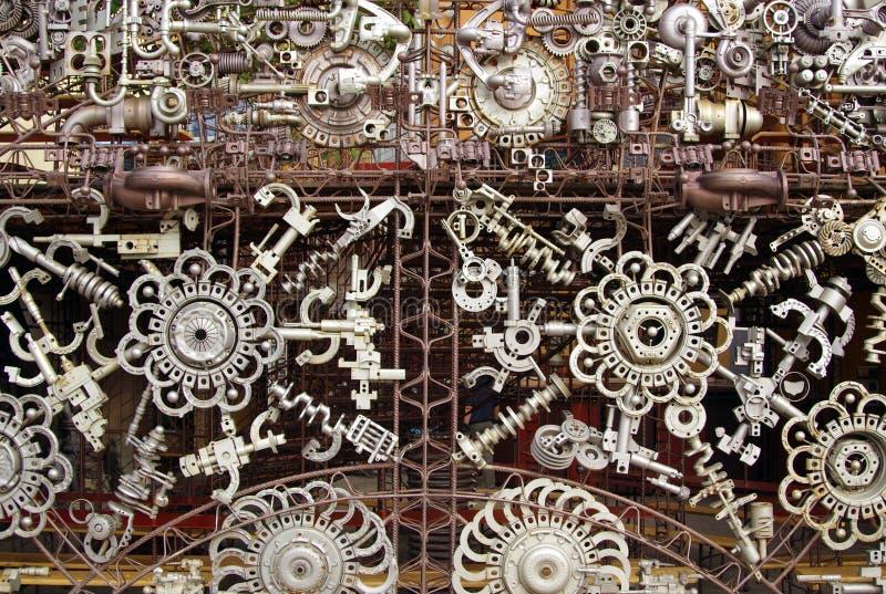 Pièces de machine photo stock