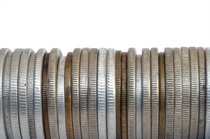 Download Pièces de monnaie photo stock. Image du argent, côté, honoraires - 82316