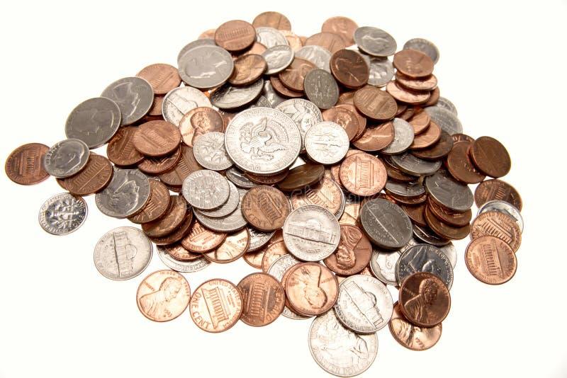 Download Pièces De Monnaie Américaines Photo stock - Image du économie, fonds: 4350638