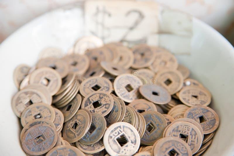 Pièces de monnaie de Hong Kong image stock