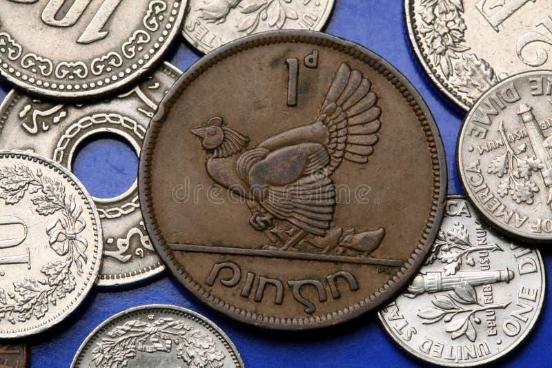 Download Pièces De Monnaie De L'Irlande Photo stock - Image du offre, eire: 45350866