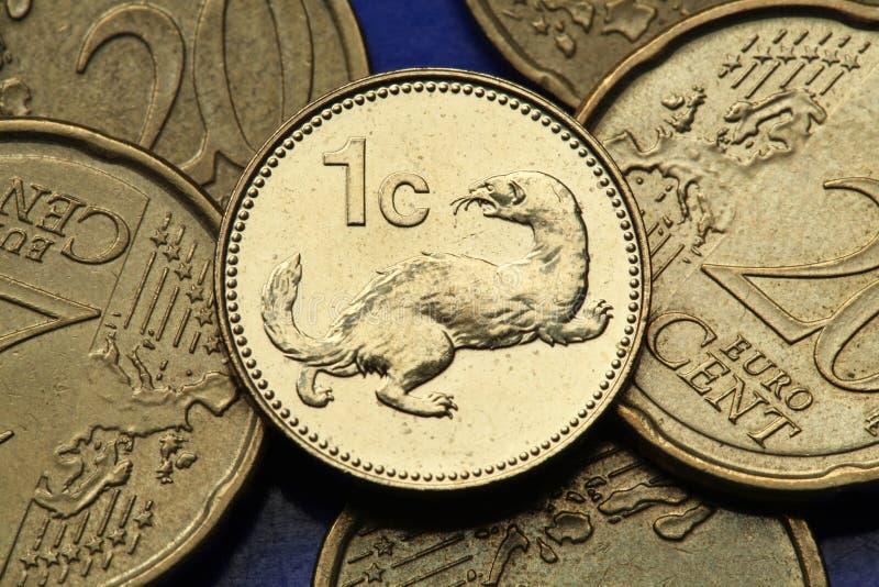 Download Pièces de monnaie de Malte image stock. Image du belette - 45350633