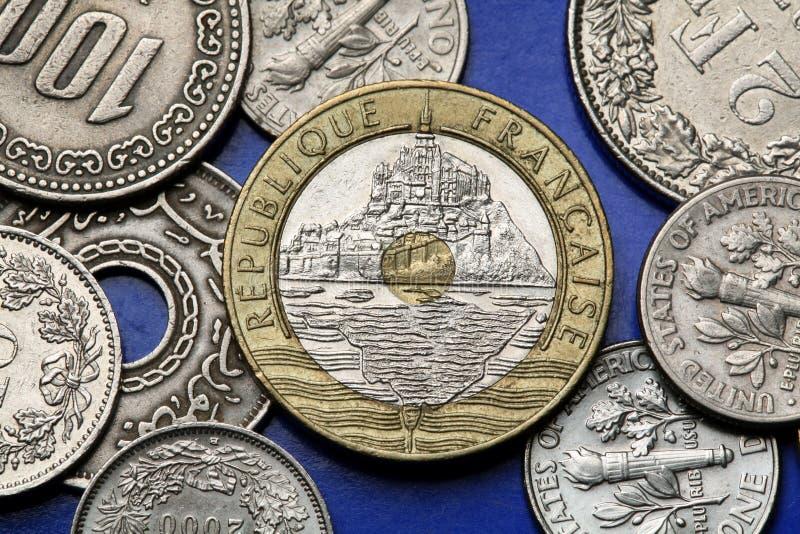 Download Pièces De Monnaie Des Frances Image stock - Image du coins, instruction: 45351149
