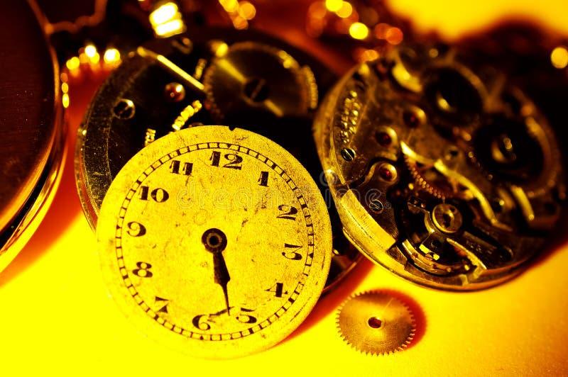 Pièces de montre photo libre de droits