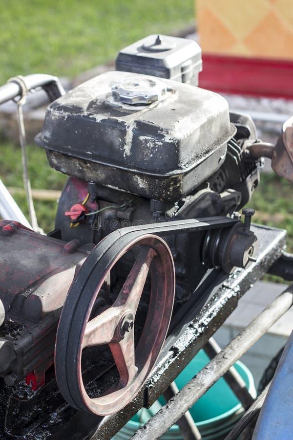 Pièces de moteur de pompe images stock