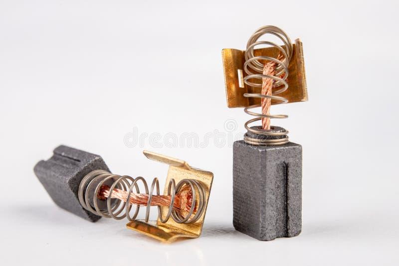 Pièces de rechange pour le moteur électrique Composants de la commande électrique qui portent le plus rapide photographie stock libre de droits