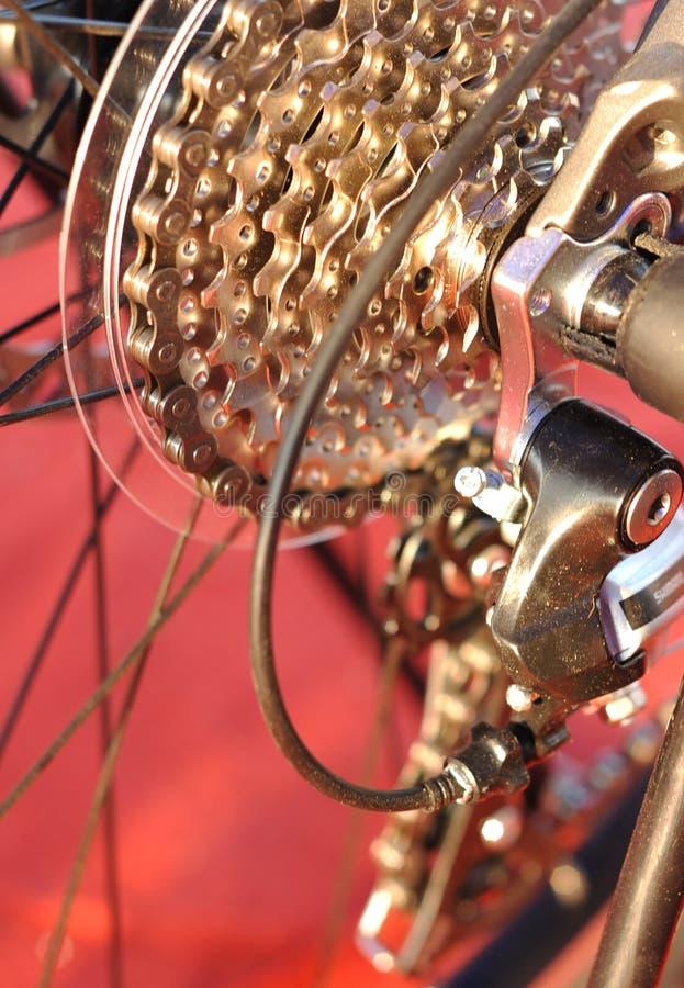Pièces de vélo image stock