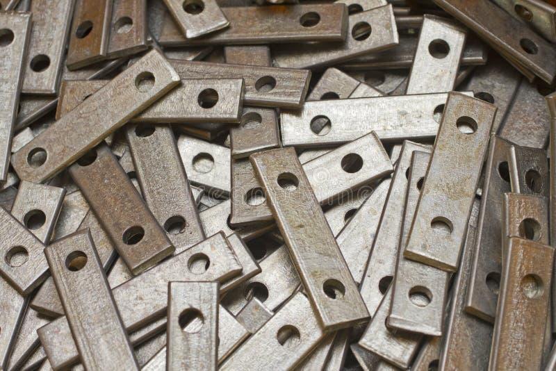 Pièces en métal photo libre de droits