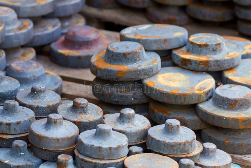 Pièces en métal image stock