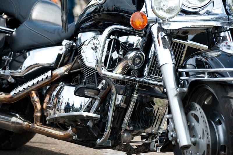 Pièces en métal de moto photographie stock