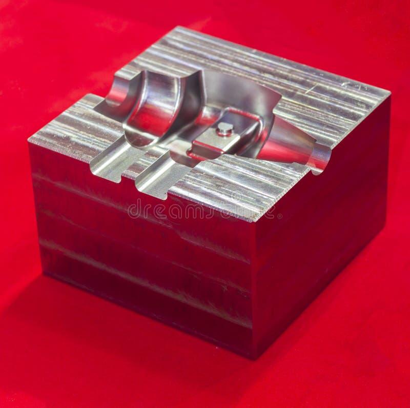 pièces en métal pour l'usinage photos libres de droits