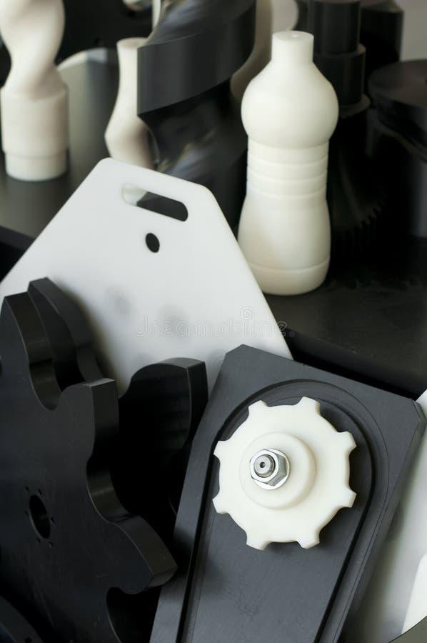Pièces en plastique de machine images libres de droits