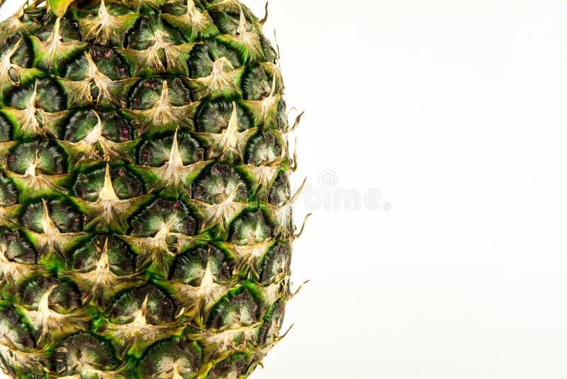Piña aislada en el fondo blanco Fruta del verano fotos de archivo