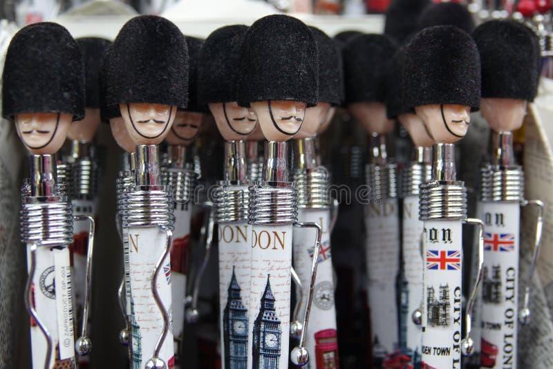 Pióro pamiątki przy Londyn zdjęcie royalty free
