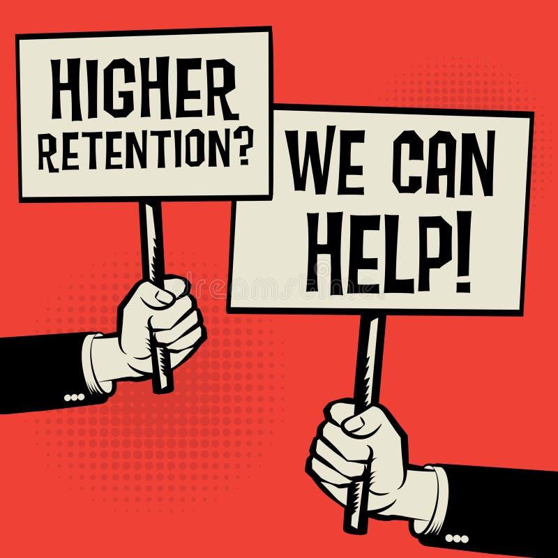 Più alta conservazione? Possiamo aiutare! royalty illustrazione gratis