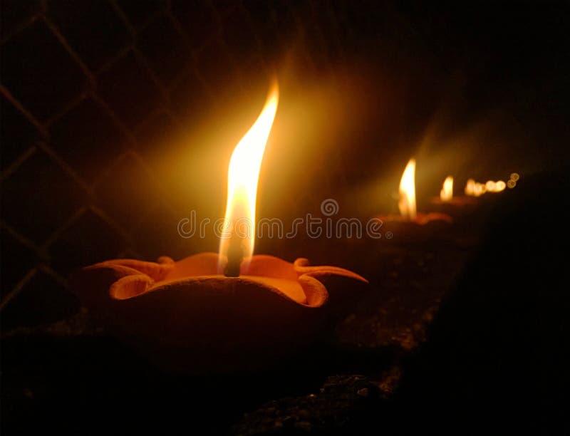 Più candele fotografie stock