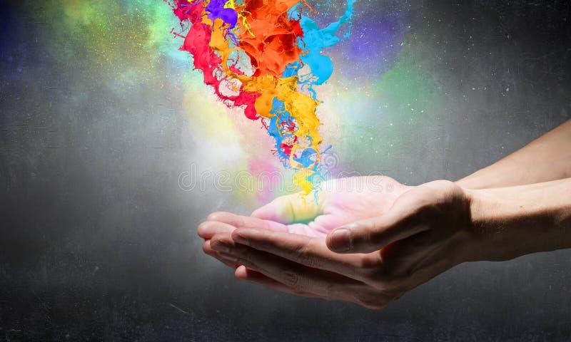 Più colori alla vostra vita immagini stock libere da diritti