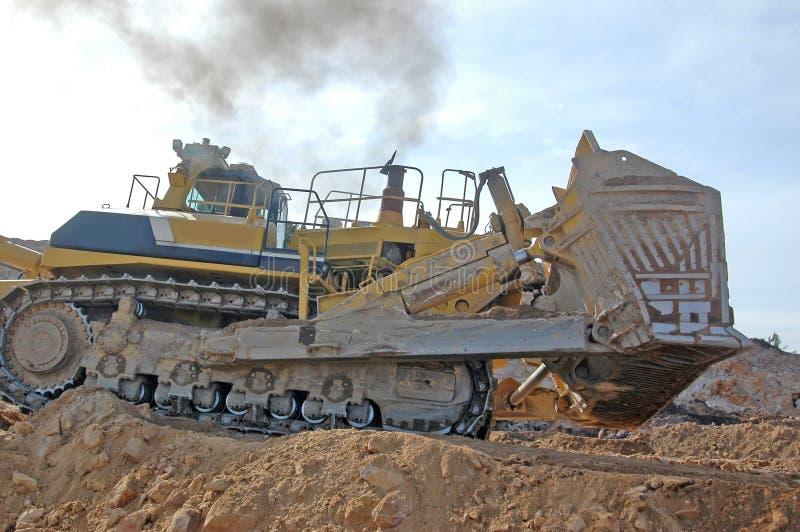 Più grande bulldozer mai fotografia stock