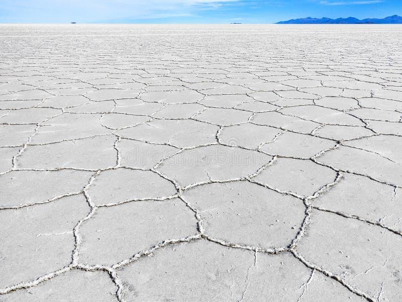Più grande pianura Salar de Uyuni, Bolivia del sale dei mondi immagini stock