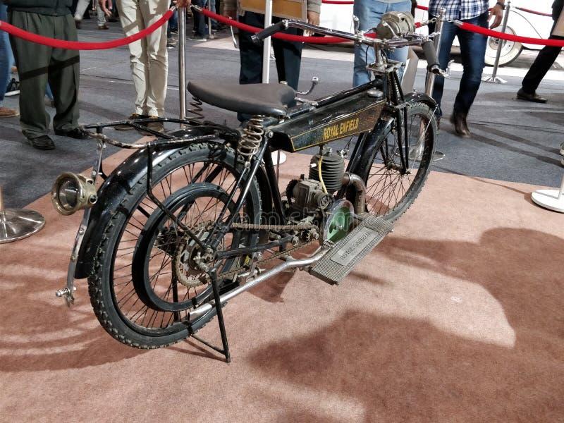 Più vecchia bici India immagine stock