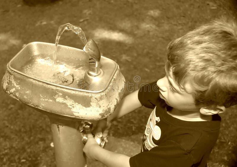 pić fontannę fotografia stock