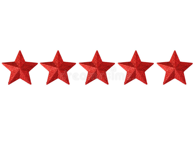 pięć gwiazdek
