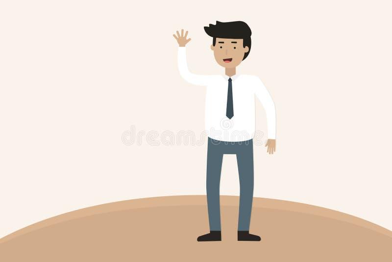 Pięć rzeczy Robić na biznesie royalty ilustracja