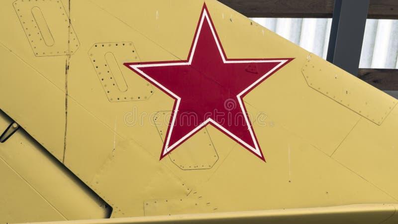 pięć wskazywali czerwieni gwiazdę obrazy royalty free