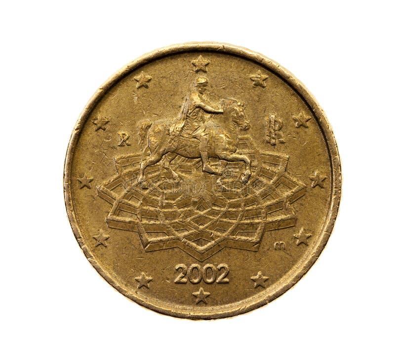 Pięćdziesiąt euro centów zdjęcie royalty free