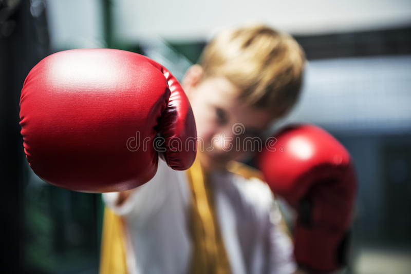 Pięści sprawności fizycznej rękawiczek Gym zdrowie sporta potomstw pojęcie obrazy stock