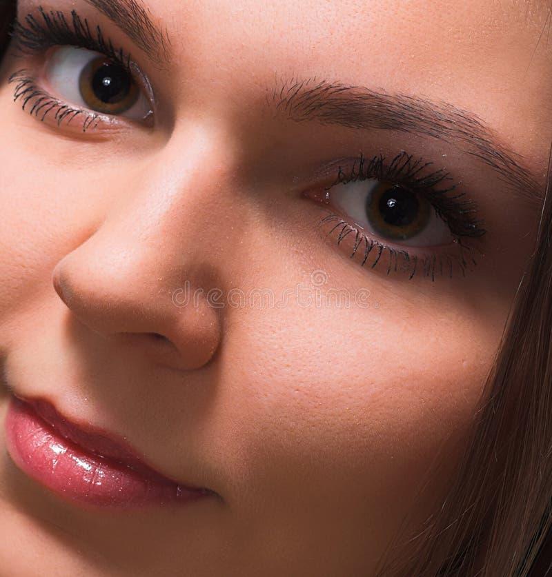 piękną twarz zdjęcie royalty free