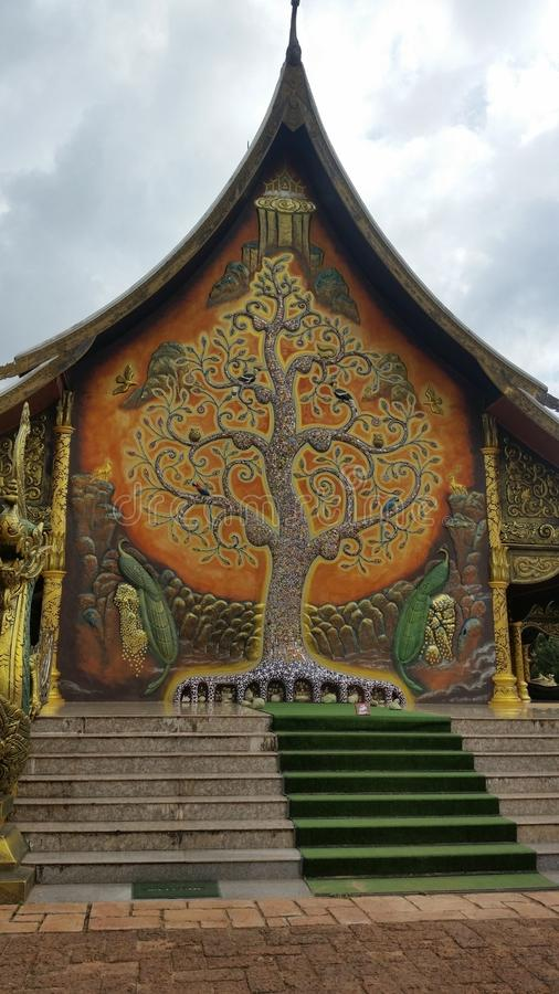 Piękna świątynia obrazy royalty free