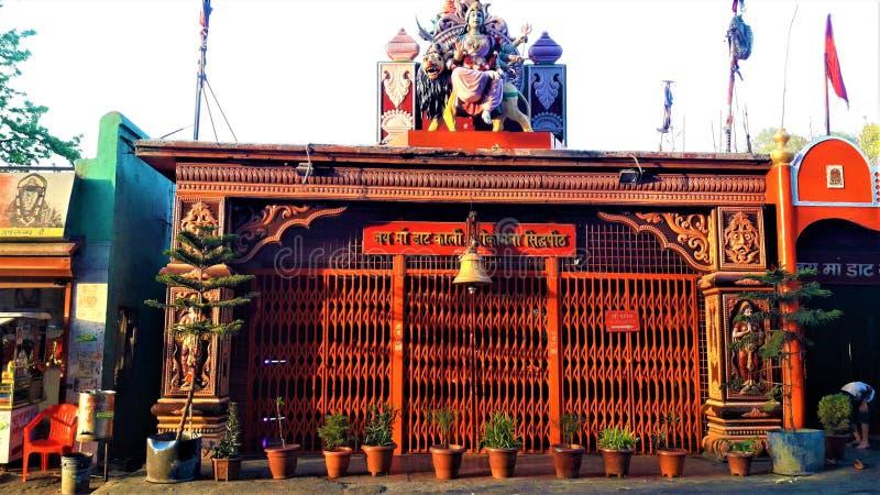 Piękna Antyczna świątynia w India obrazy royalty free
