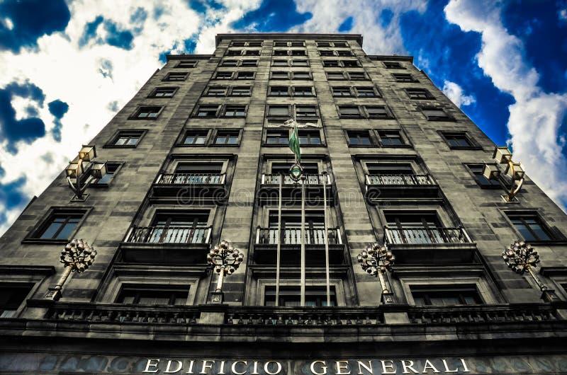 Piękna architektura przy Barcelona obraz stock
