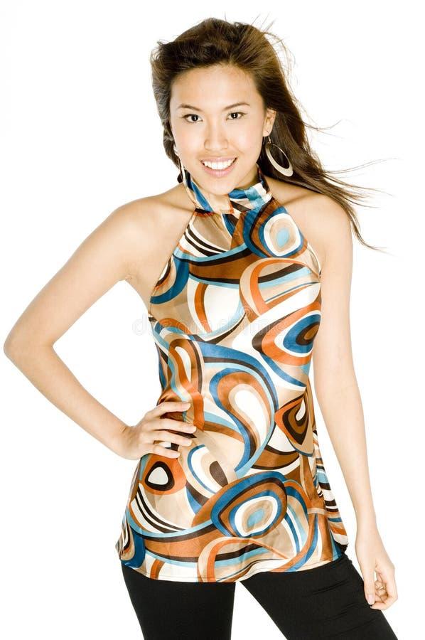 Piękna Azjatycka Kobieta obraz stock