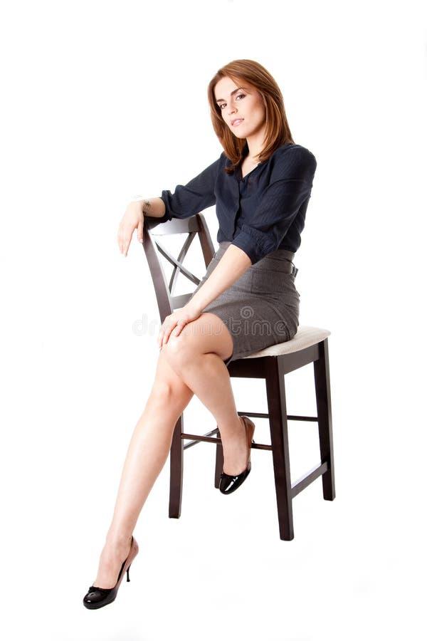 piękna biznesowa kobieta obrazy royalty free