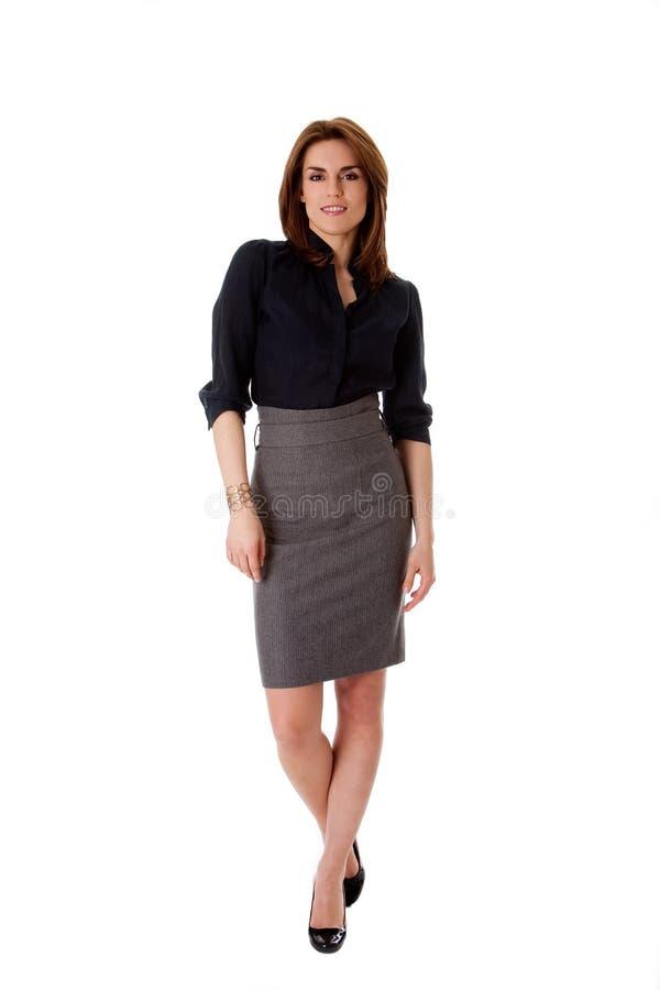 piękna biznesowa kobieta zdjęcia stock