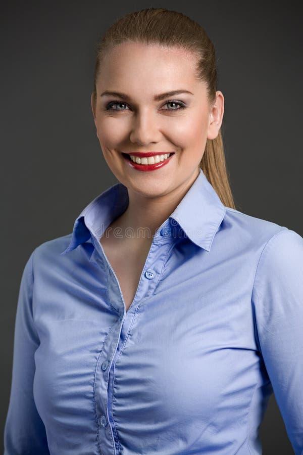 piękna bizneswomanu portret fotografia royalty free