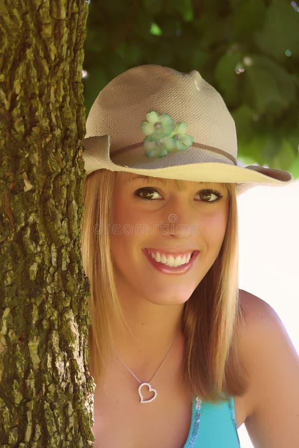 piękna blondynka dziewczyna zdjęcia royalty free