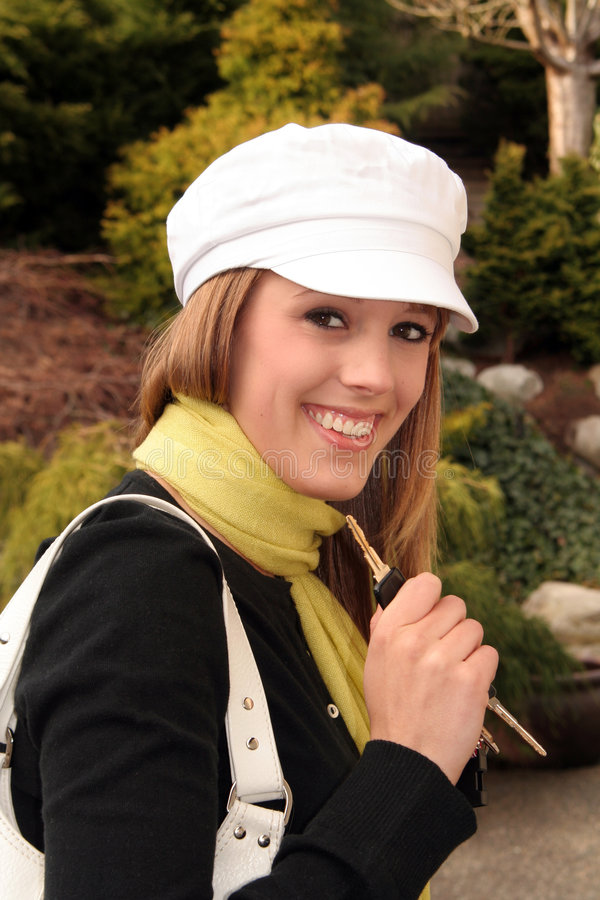 piękna blondynka dziewczyna fotografia stock