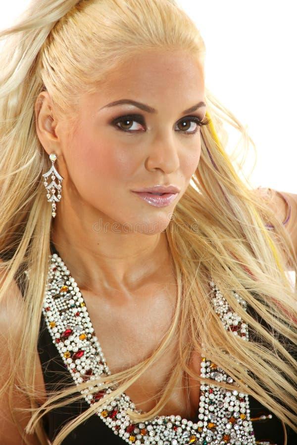 piękna blondynka kobieta zdjęcia stock