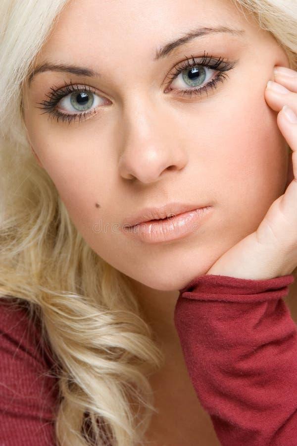 piękna blondynka kobieta obrazy stock