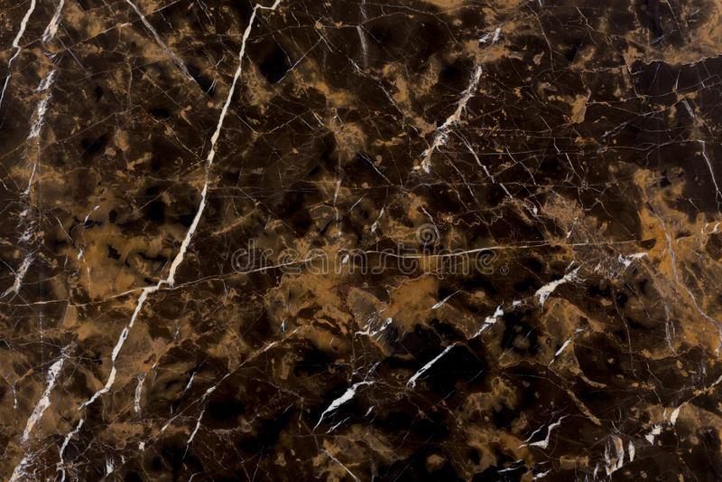 Piękna brąz żyły marmuru płytka t?o tekstura naturalna kamienna zdjęcia royalty free